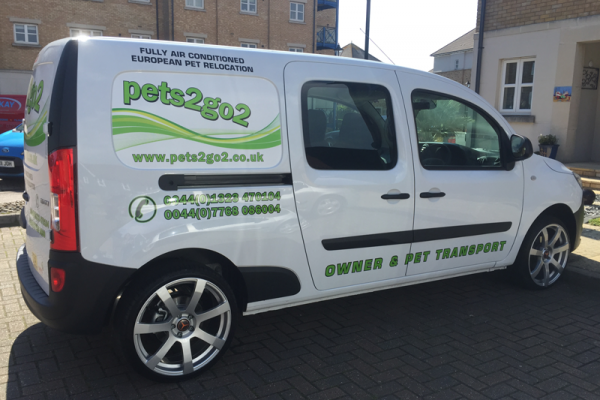 Pet Transport UK to Germany